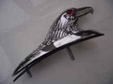 Large eagle hawk Chrome Fender / Mudguard Ornament/Mascot chrome alloy